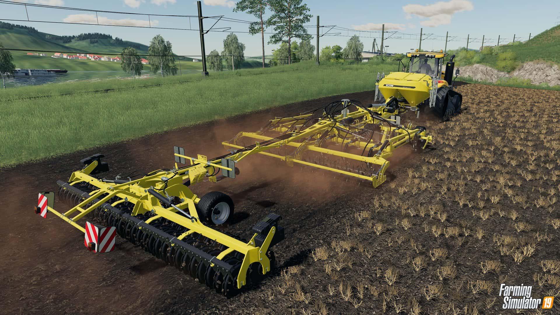 Farming Simulator 19 will include BEDNAR FMT - Farming Simulator 19