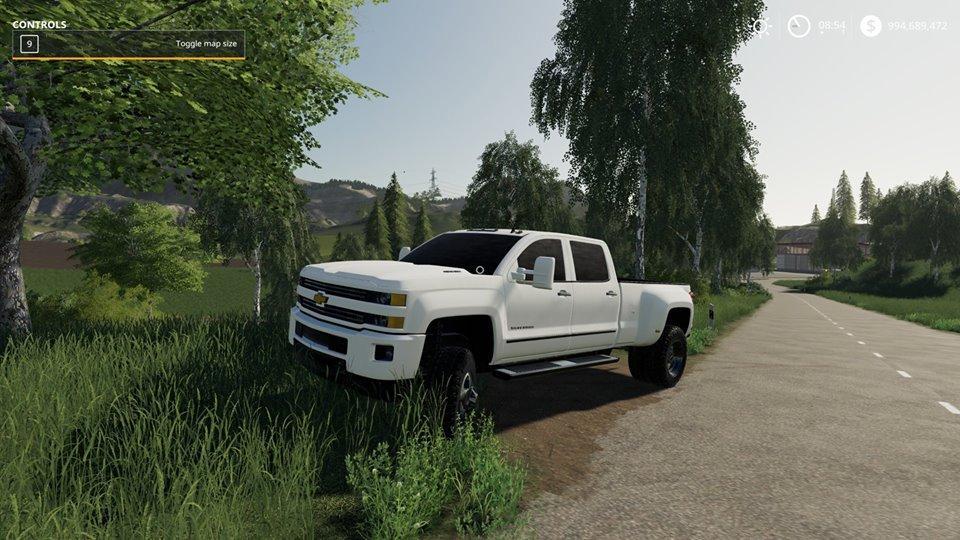 ChevyDually 3500HD v1 0 Mod - Farming Simulator 19 Mod / FS19