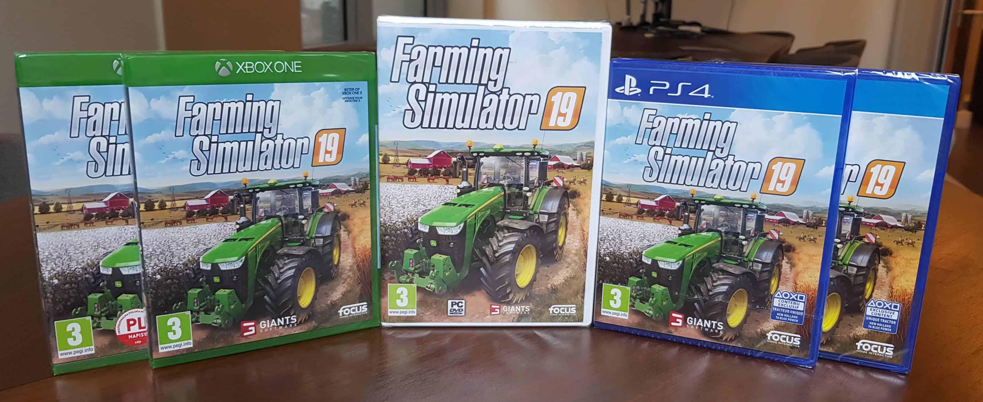 Farming Simulator 19 boxes arrived! - Farming Simulator 19 Mod / FS19