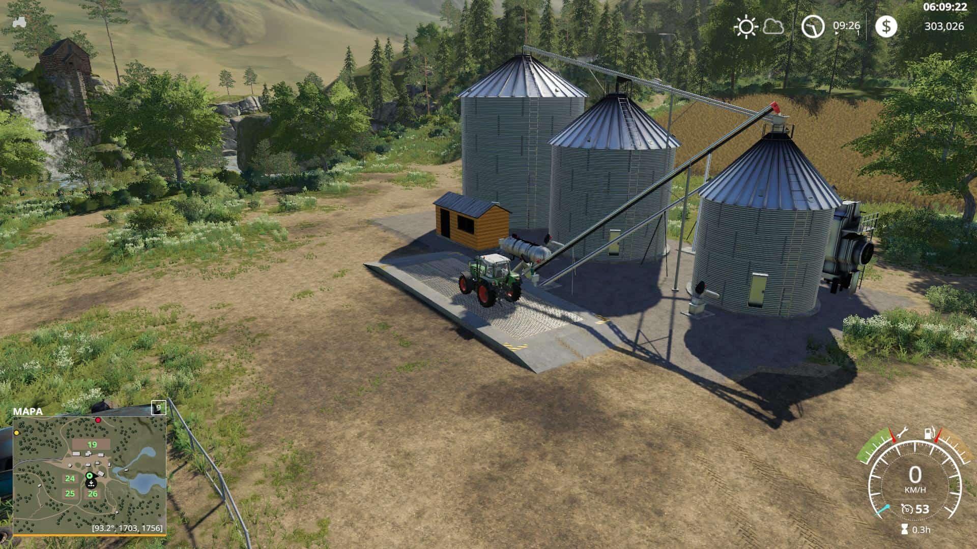 Large Grain Silo v1 0 1 0 Mod - Farming Simulator 19 Mod / FS19