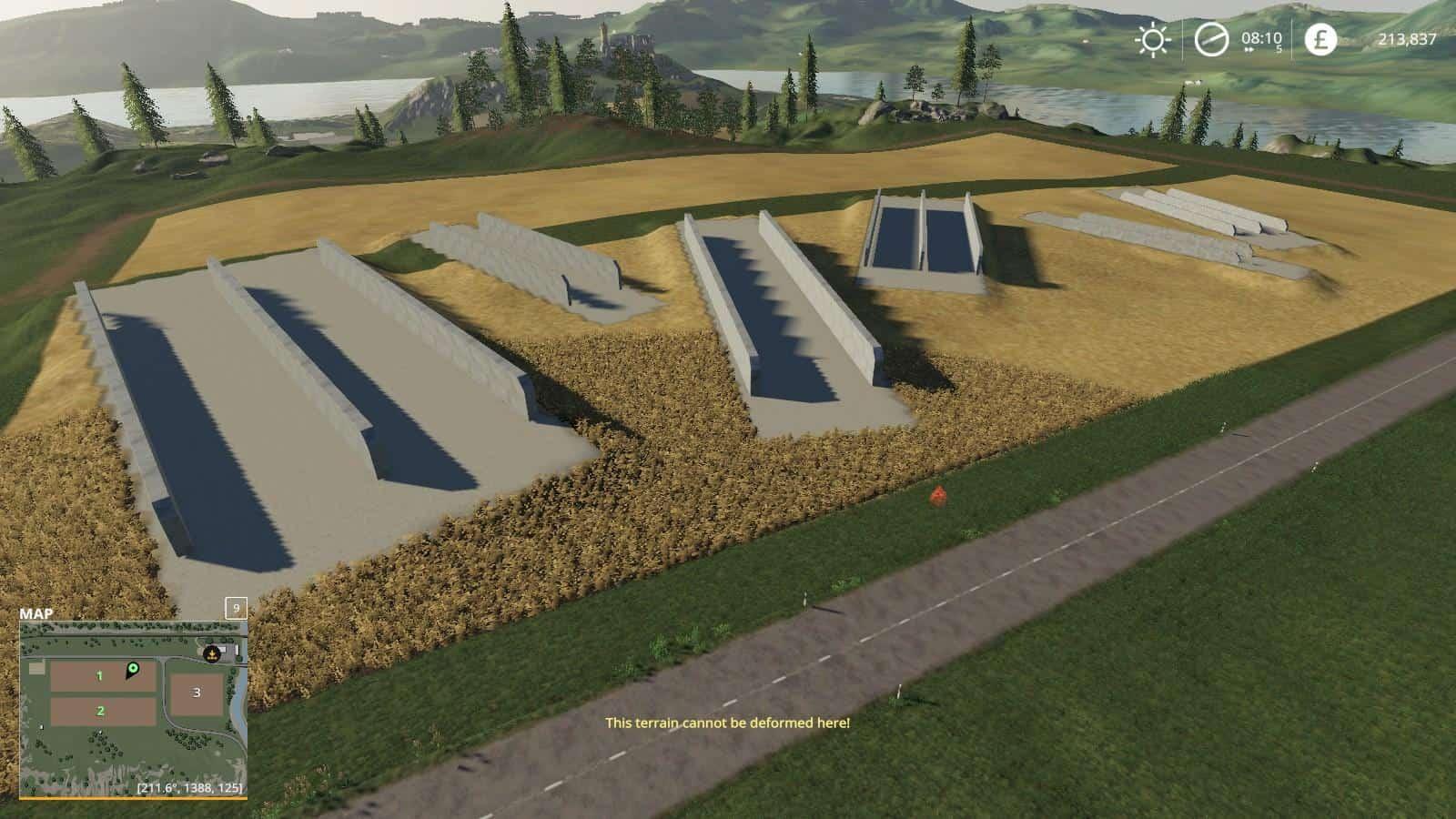 Bunker Silos 360 v1 0 0 0 Mod - Farming Simulator 19 Mod / FS19