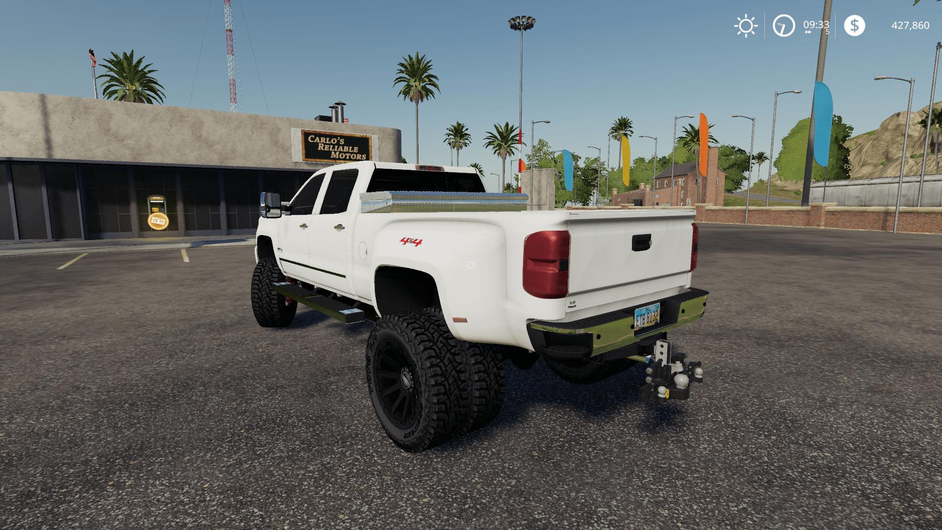 Chevy 3500 Duramax Mod - Farming Simulator 19 Mod / FS19