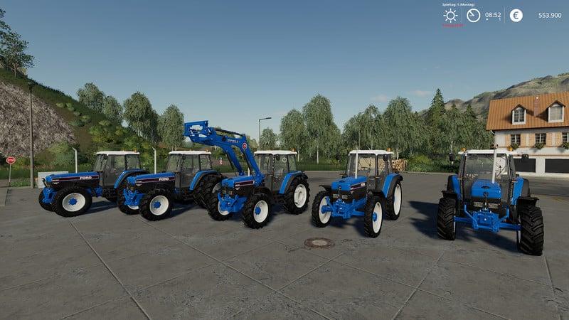 Ford 40 Series V 1 0 0 0 Tractor - Farming Simulator 19 Mod