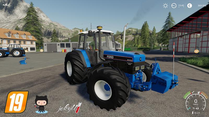 Ford 40er Series v1 2 0 Tractor - Farming Simulator 19 Mod