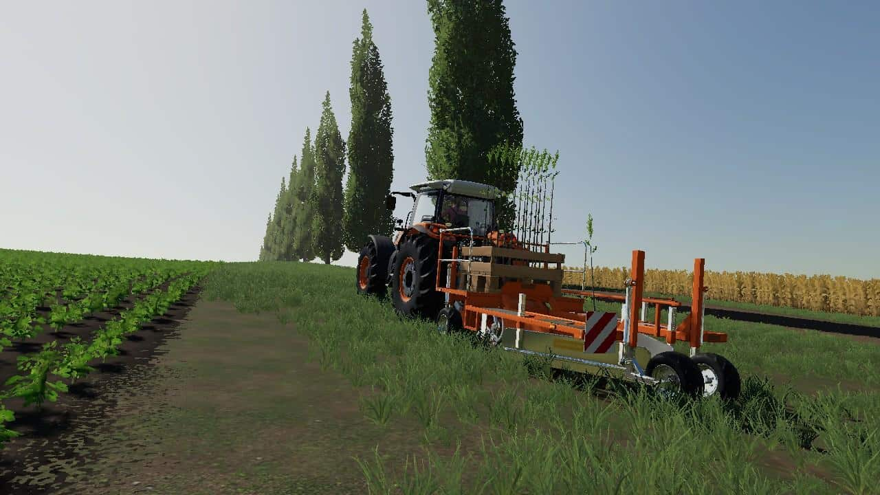 Forestry Equipment Pack v1 0 Mod - Farming Simulator 19 Mod