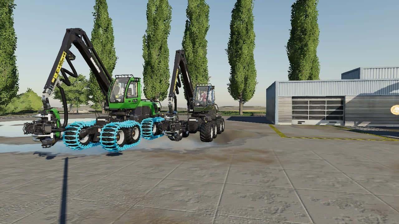 Forestry Equipment Pack v1 0 Mod - Farming Simulator 19 Mod / FS19