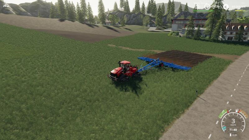 Heliodor 16m plow v1 1 Mod - Farming Simulator 19 Mod / FS19