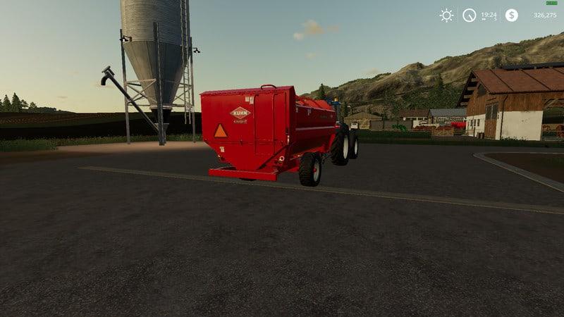 Kuhn RA142 feed wagon V 1 Trailer - Farming Simulator 19 Mod
