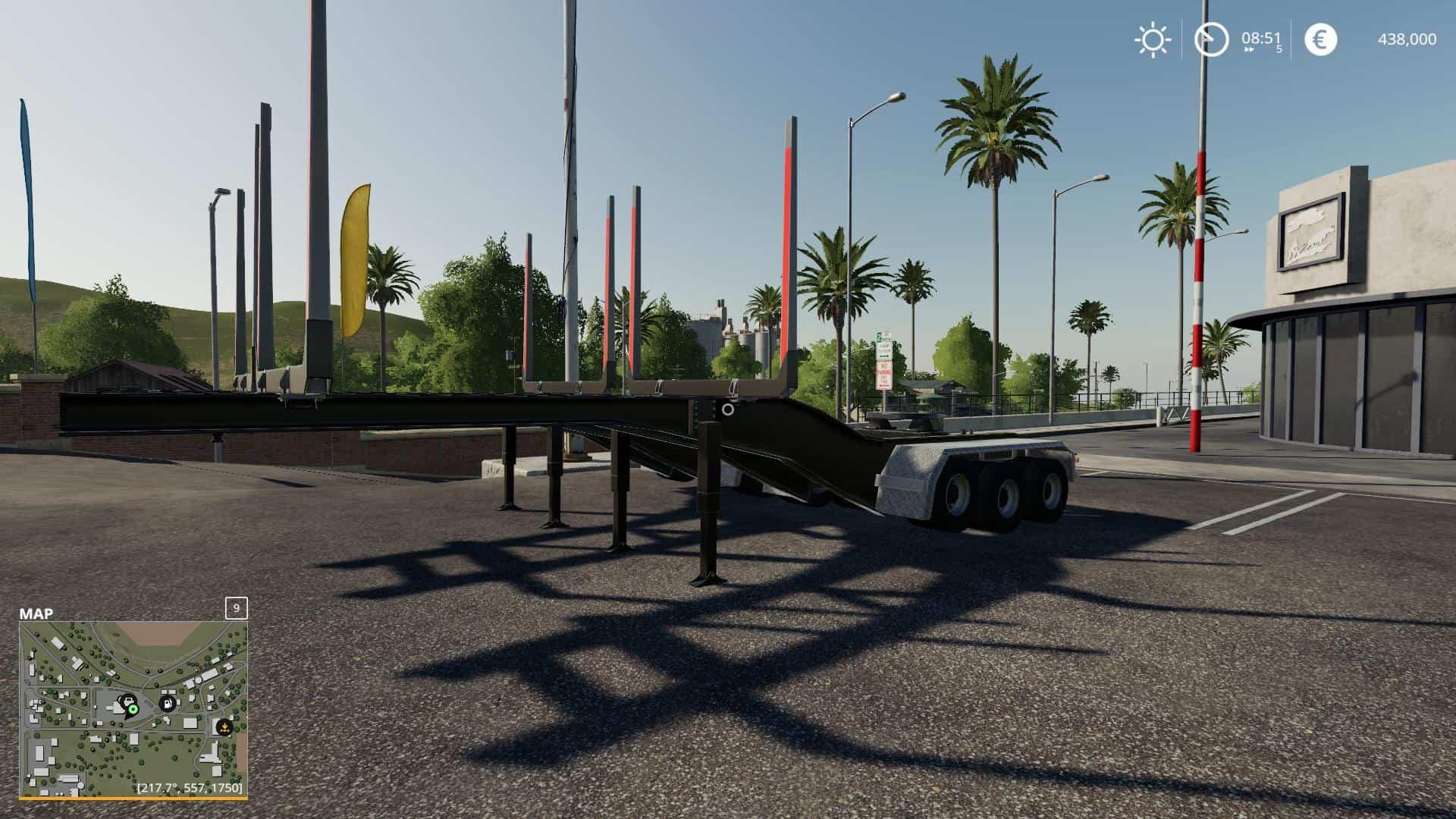 Log Trailers v1 0 0 0 Mod - Farming Simulator 19 Mod / FS19