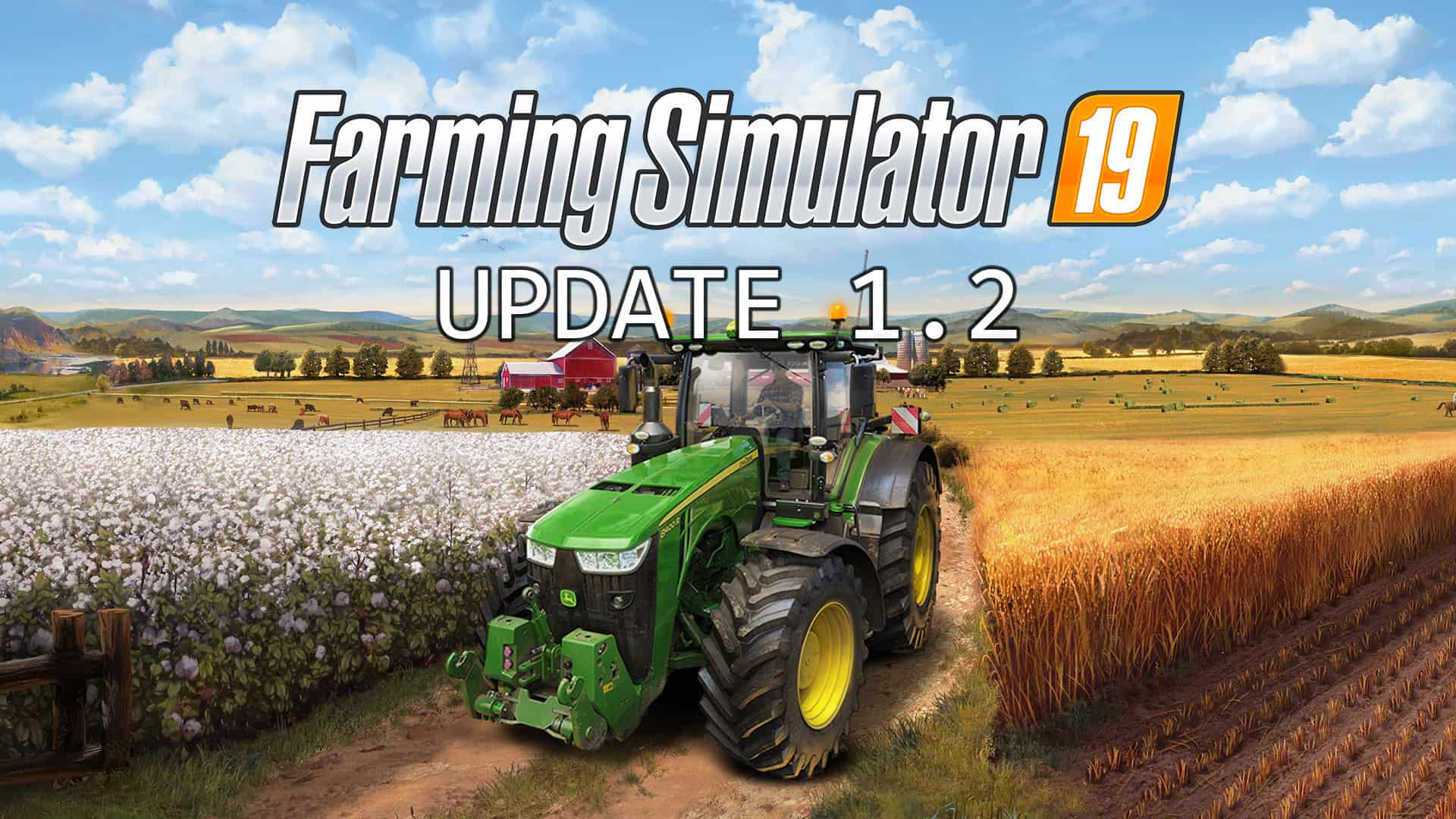 Farming Simulator 19 - Update 1 2 - Farming Simulator 19 Mod