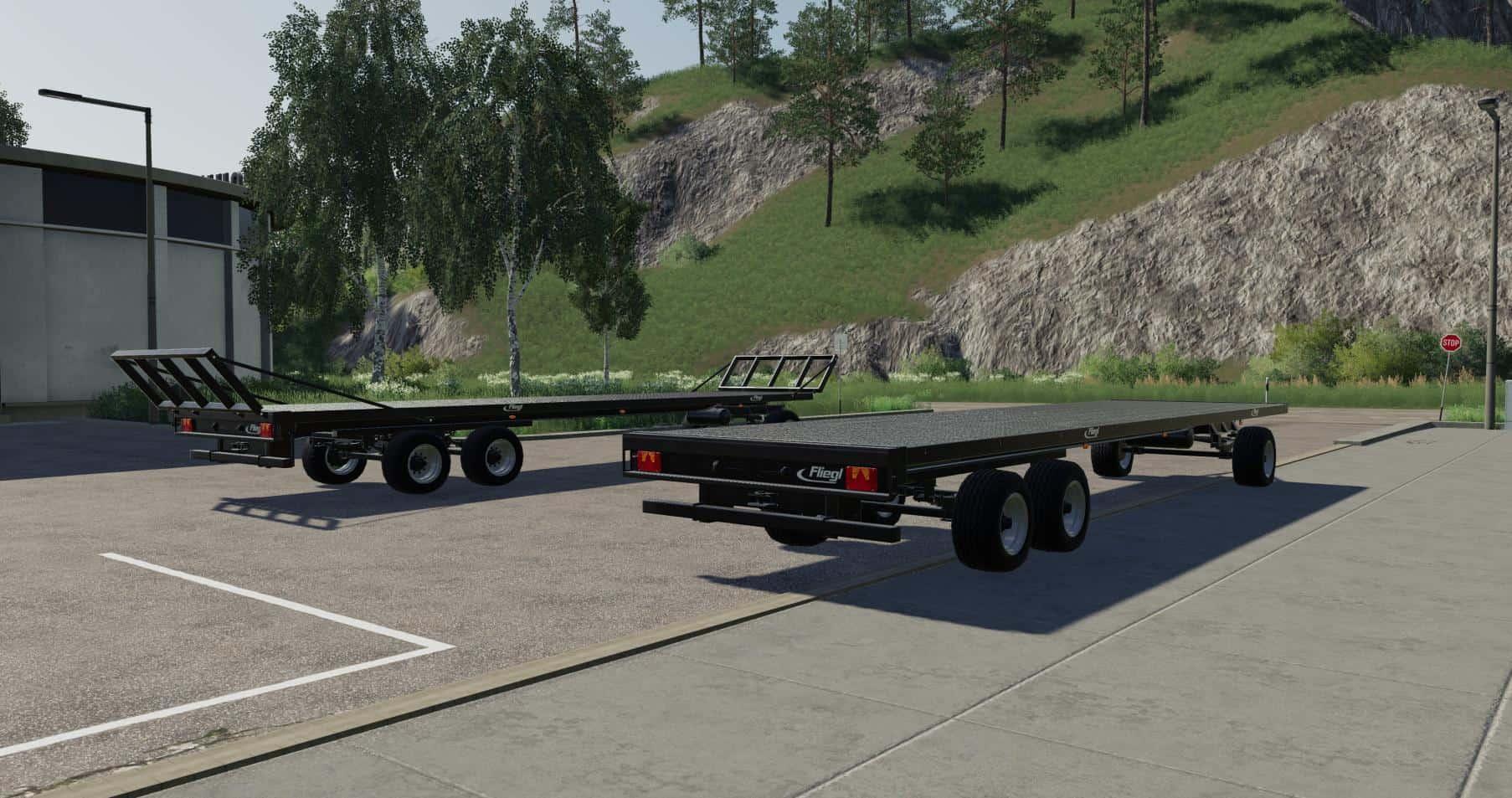Fliegl DPW 180 Roundbale Autoload v0 0 2 0 Mod - Farming Simulator