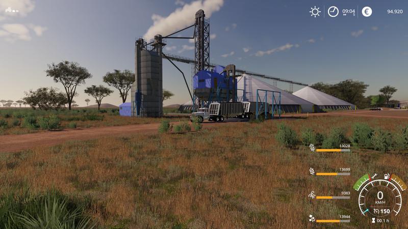 Big Aussie Outback V 1 Beta Map - Farming Simulator 19 Mod