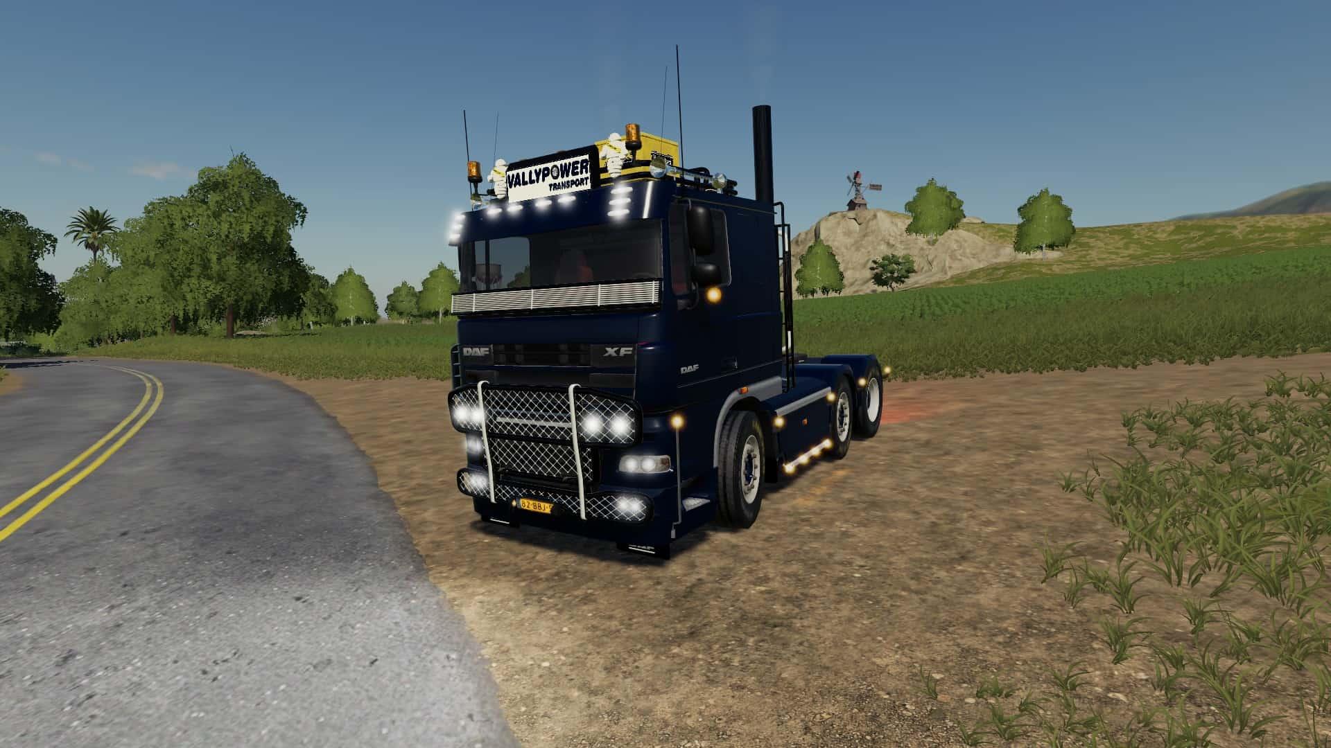 DAF 105 XF Truck - Farming Simulator 19 Mod / FS19