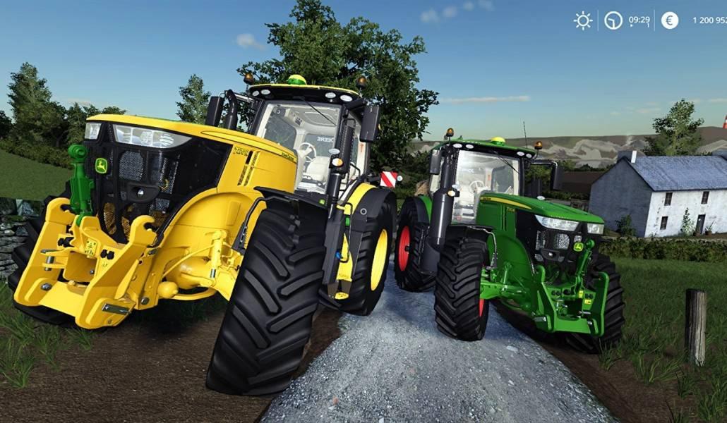 John Deere 7R Chiptuning v1 1 Mod - Farming Simulator 19 Mod