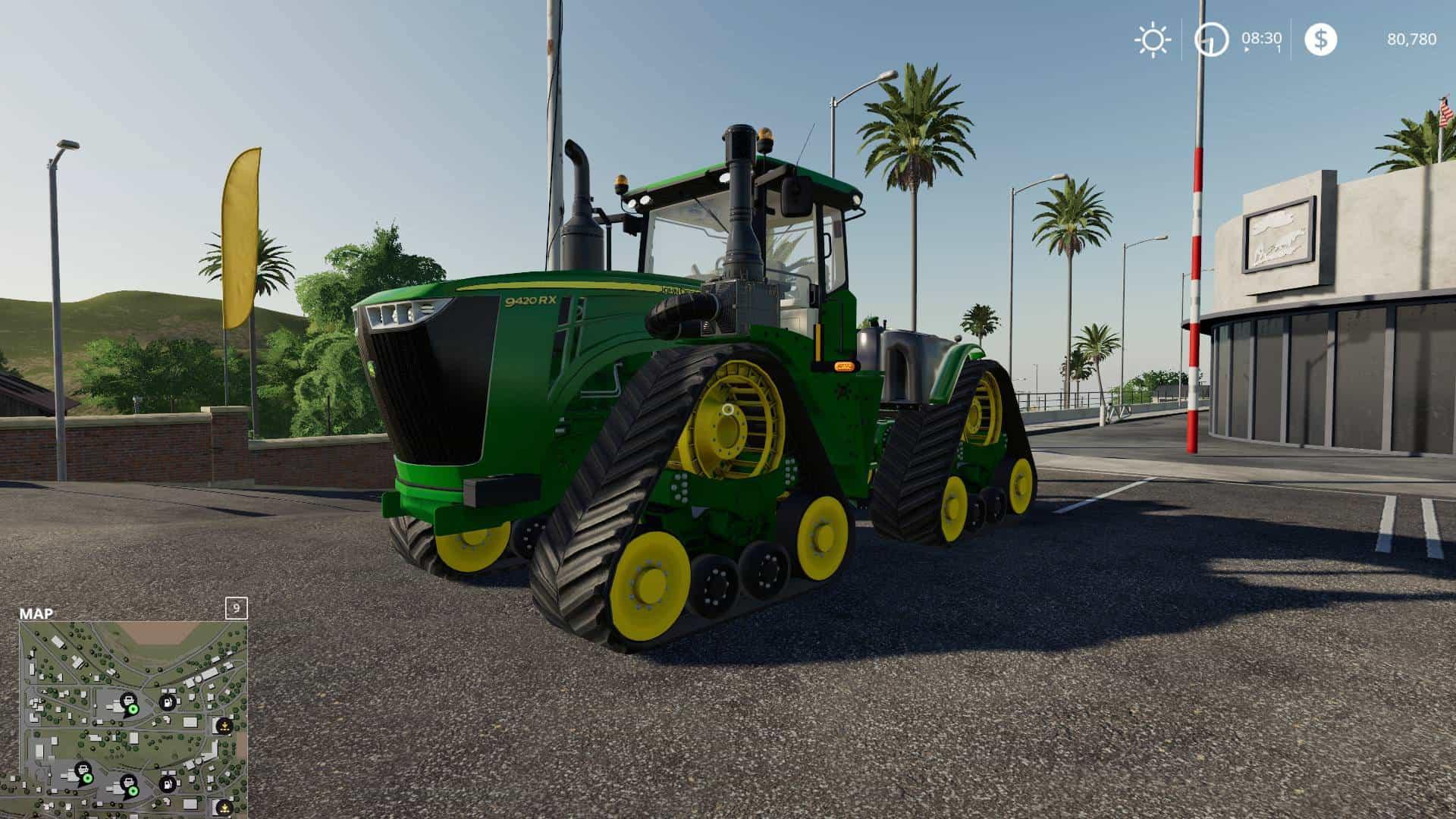 John Deere 9RX Tractor - Farming Simulator 19 Mod / FS19