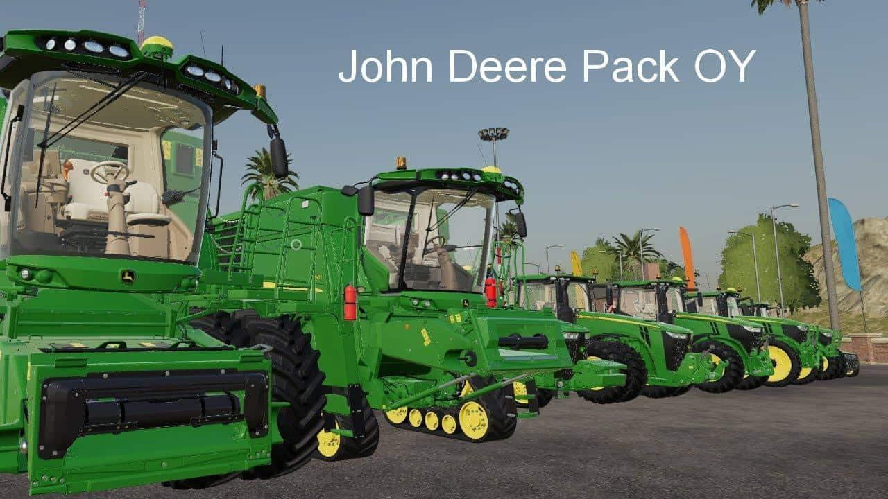 John Deere Pack OY MP v19 5 Mod - Farming Simulator 19 Mod