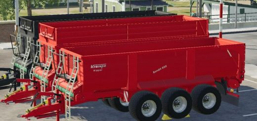 Fliegl Timber Runner With Autoload Wood v1 0 Mod - Farming Simulator