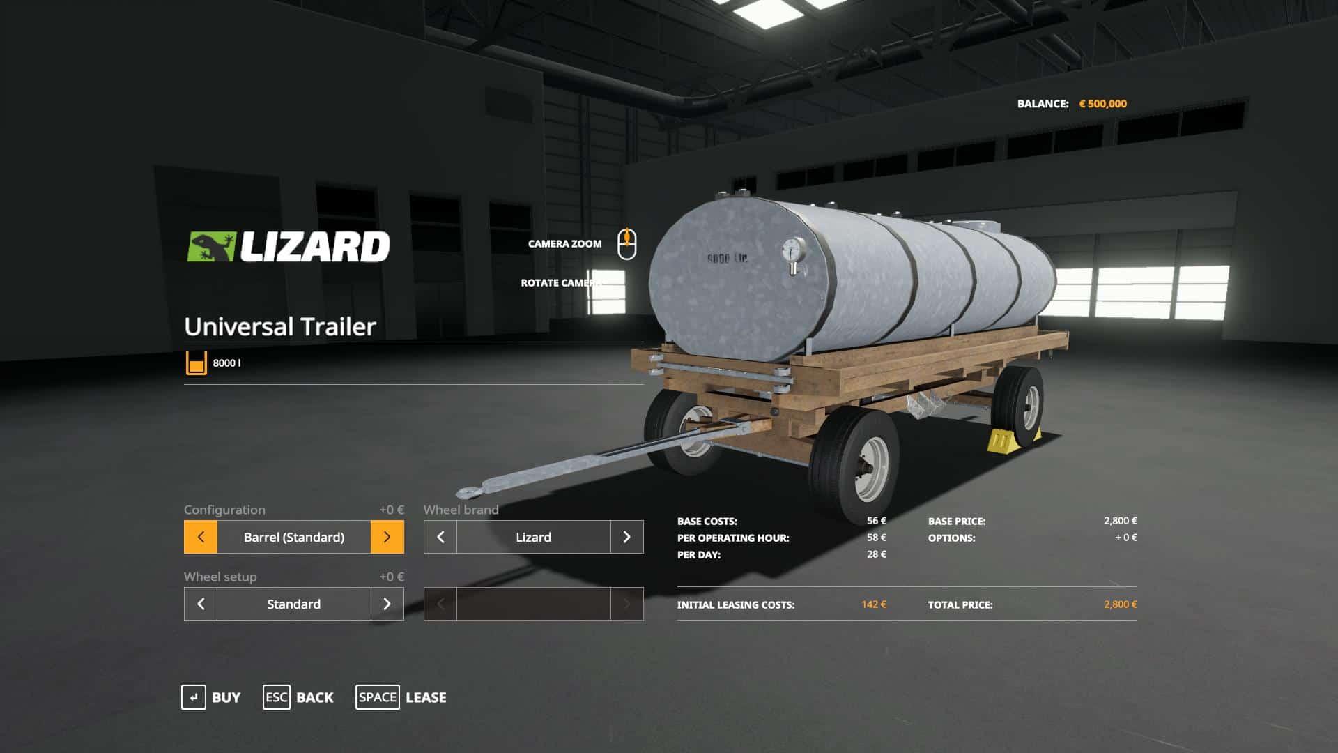 Lizard Universal Trailer v1 0 0 Mod - Farming Simulator 19