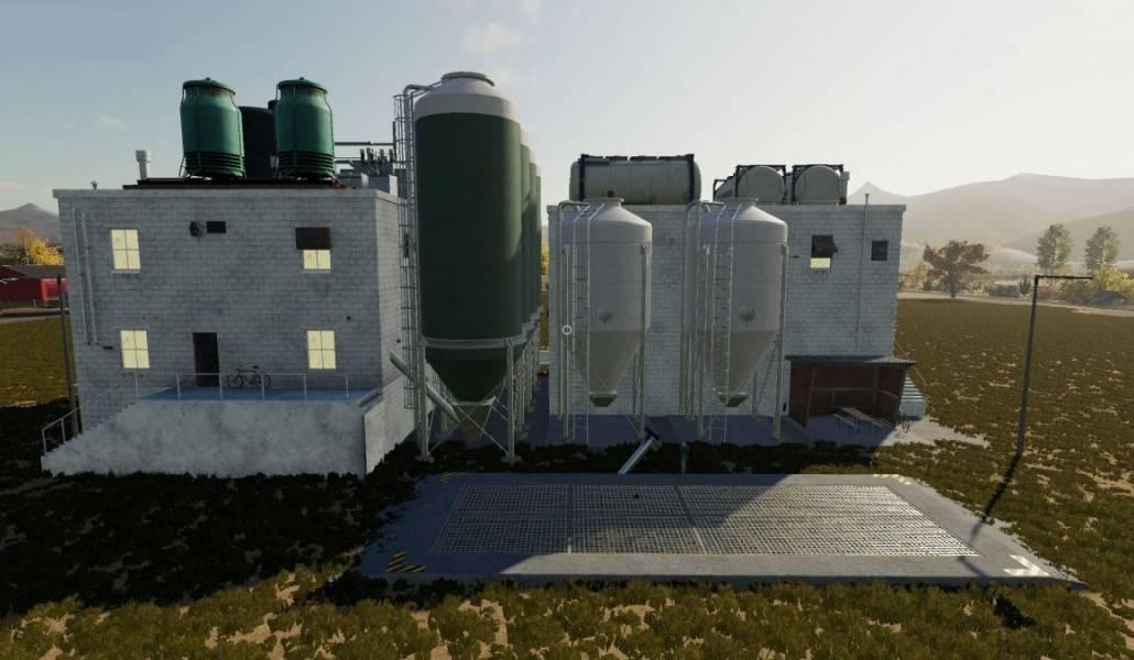 Multi Large Silo Mod - Farming Simulator 19 Mod / FS19