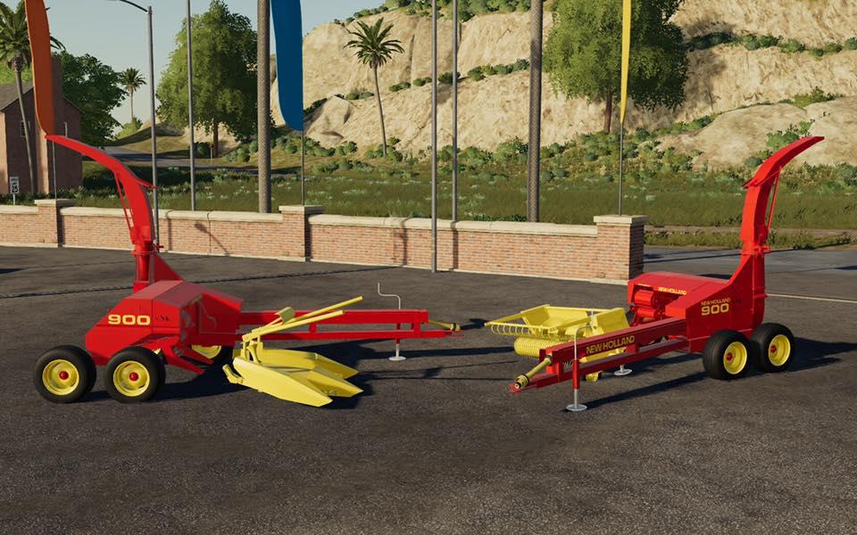 New Holland 900 Mod - Farming Simulator 19 Mod / FS19