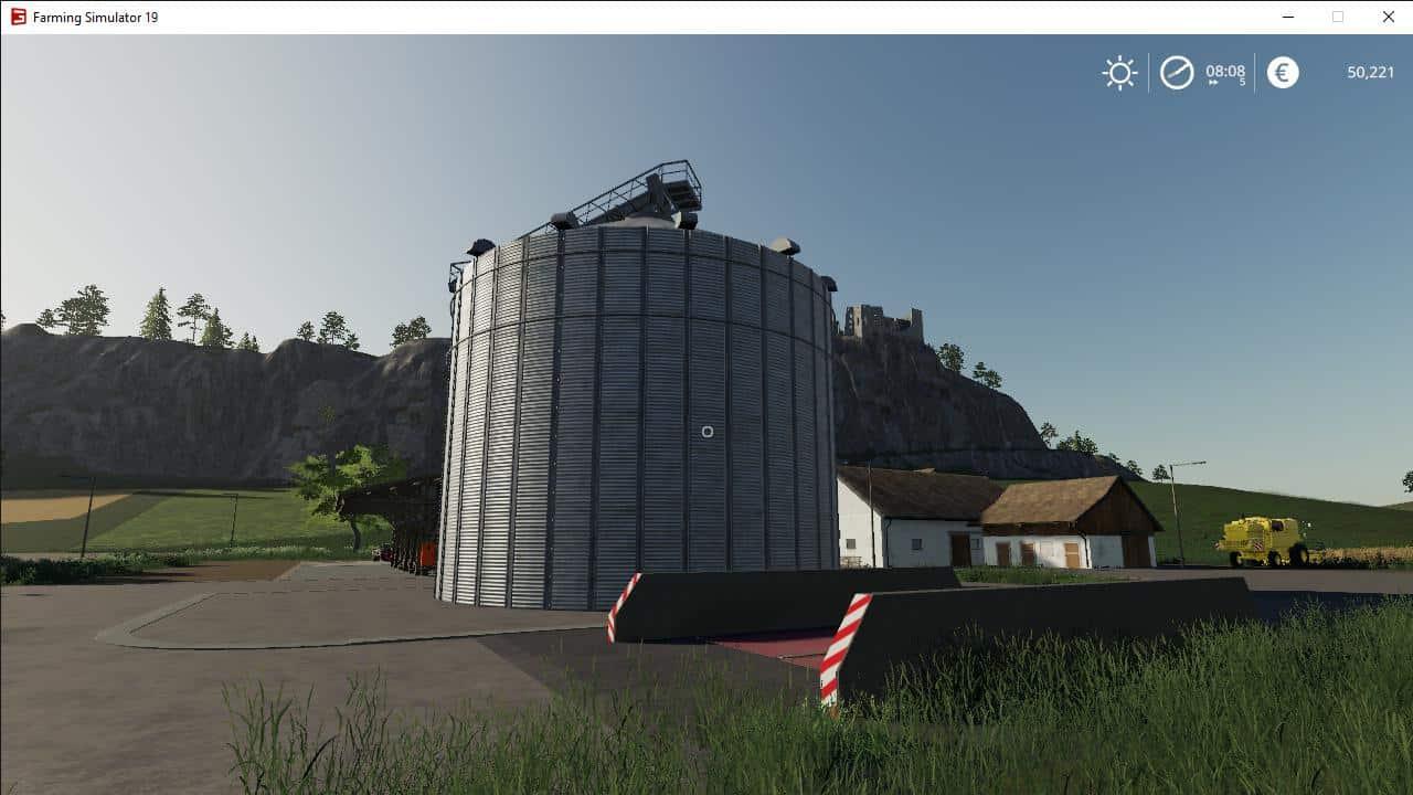 Silo placeable v1 0 0 0 Mod - Farming Simulator 19 Mod / FS19