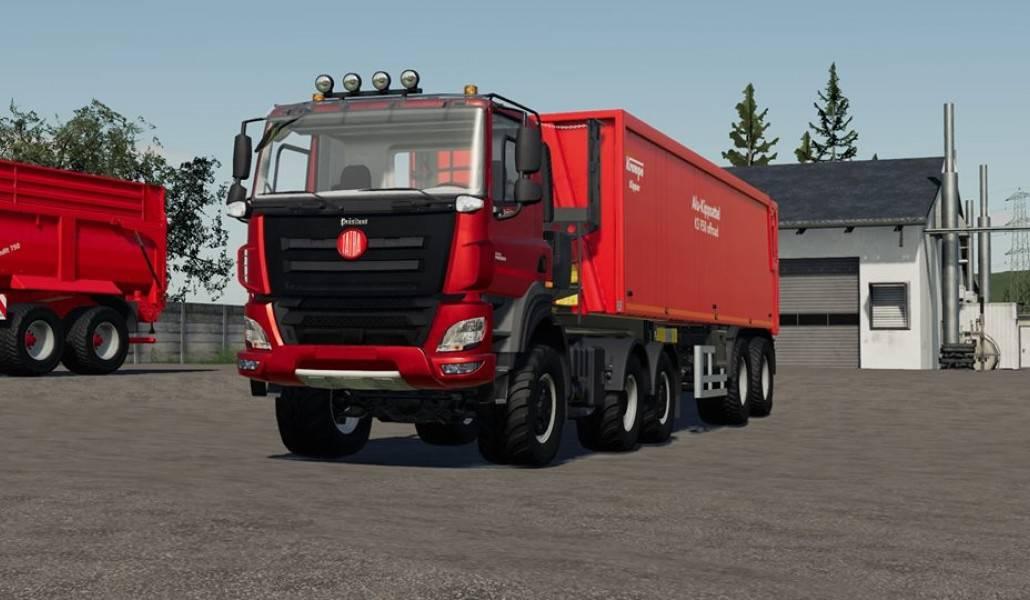 Tatra präsident Truck - Farming Simulator 19 Mod / FS19