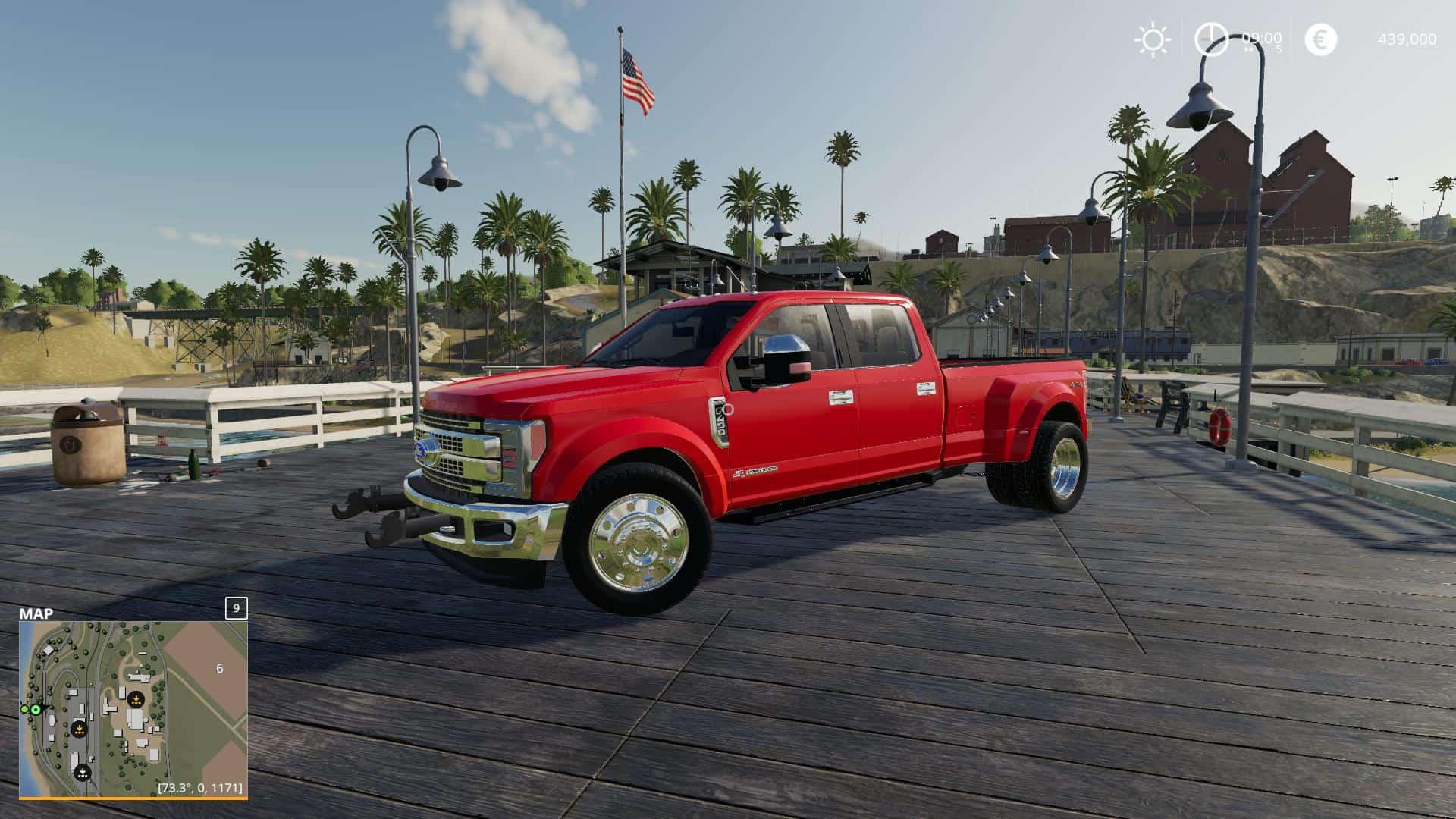 Updated 2019 Ford F450 Platinum v3 0 Mod - Farming Simulator