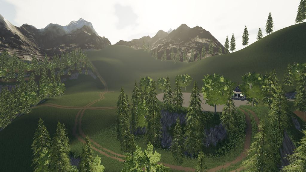 Alps Panorama At The Northern Sea v1.0.0.0 Map - Farming Simulator ...