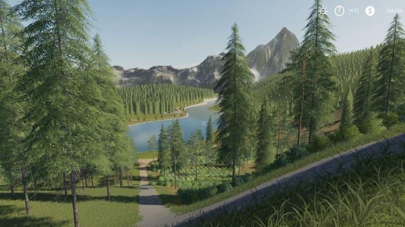 Forestry / Logging Map v1 0 0 0 Mod - Farming Simulator 19