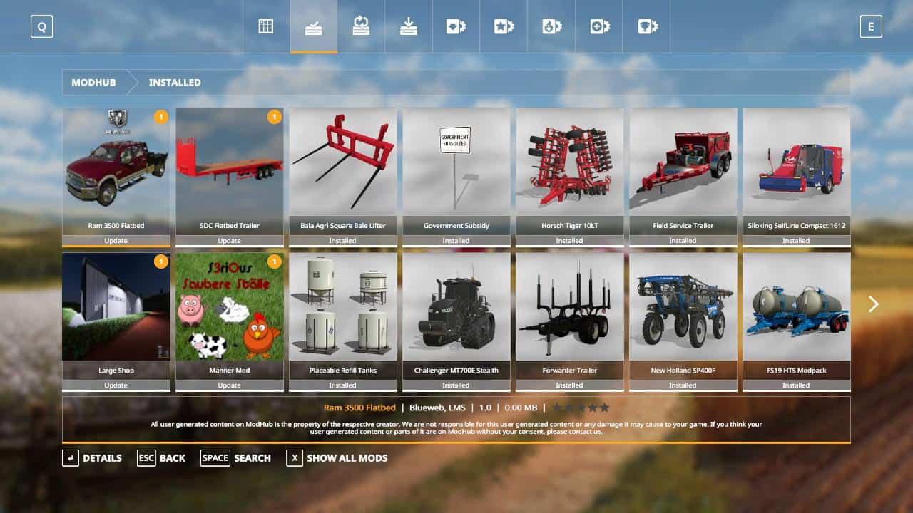 Green Pastures (SAVEGAME) v1 0 Mod - Farming Simulator 19 Mod / FS19