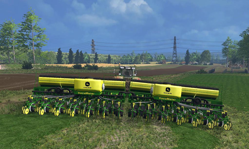 JOHN DEERE 2130 CCS PLANTADEIRA V1 0 Mod - Farming Simulator