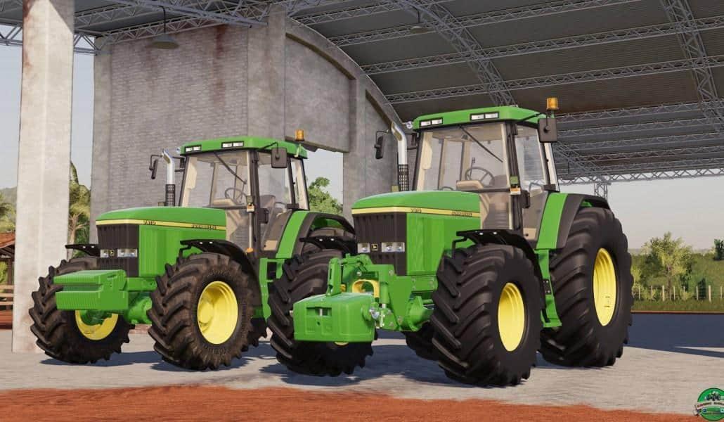 John Deere 7010 Tractor - Farming Simulator 19 Mod / FS19