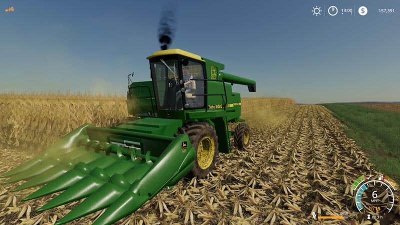 John Deere 8820 Turbo v1 0 Combine - Farming Simulator 19