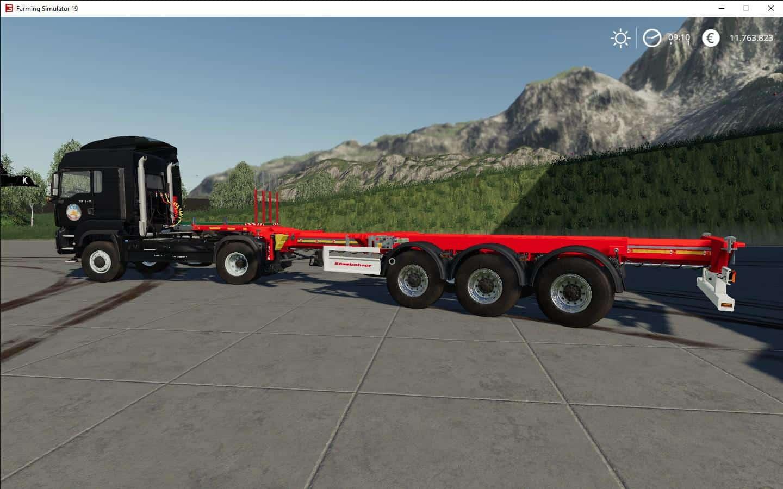 Fs19 Kassbohrer Trailer Pack V1 0 0 0 Farming Simulator 19 Mod Fs19
