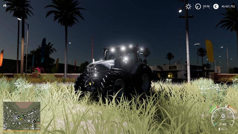 Lamborghini Mach VRT Tuning v1 0 Tractor - Farming Simulator 19 Mod
