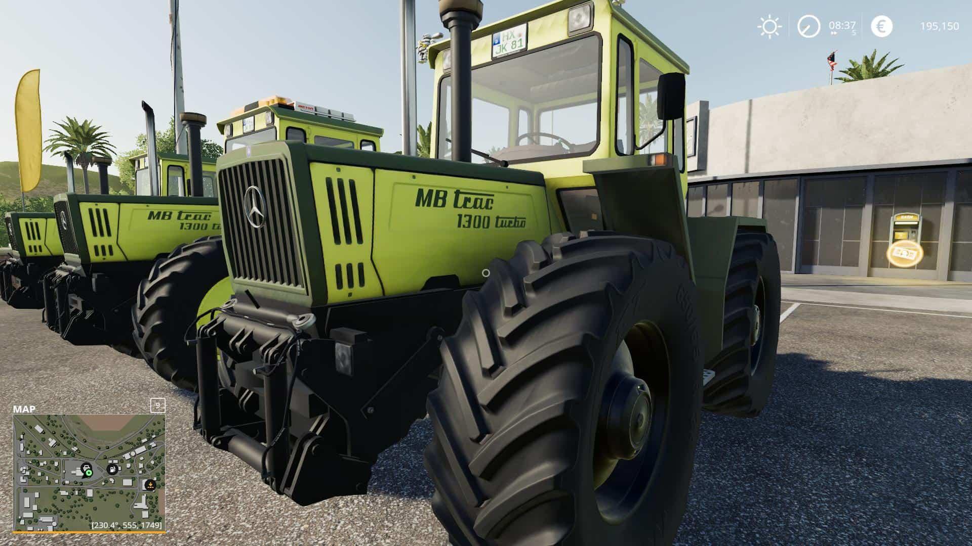 MB Track Pack v1 2 Mod - Farming Simulator 19 Mod / FS19