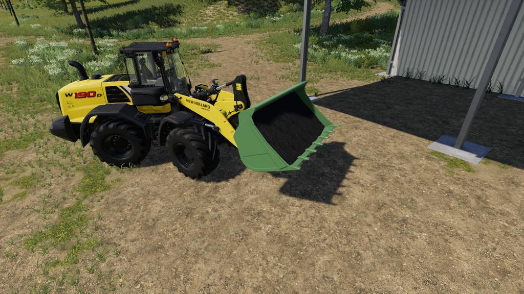 Wheel Loader Shovel v1 0 0 0 Mod - Farming Simulator 19 Mod