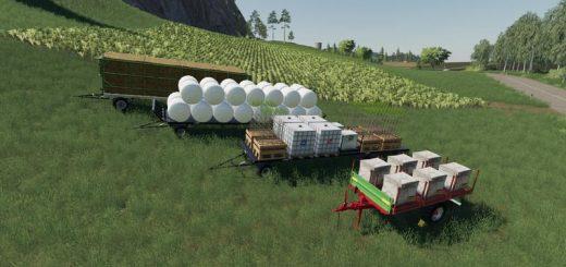 Krone Pack OY MP v19 6 Mod - Farming Simulator 19 Mod / FS19