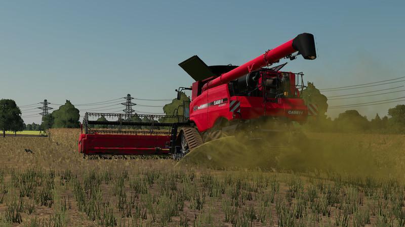 CaseIH Header Pack v1 0 Mod - Farming Simulator 19 Mod / FS19