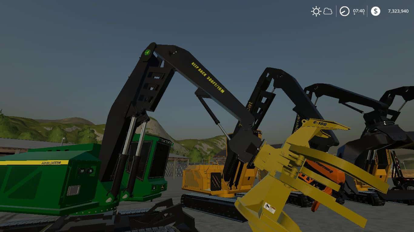 Complete FDR Logging Equipment pack V4 0 0 mod - Farming