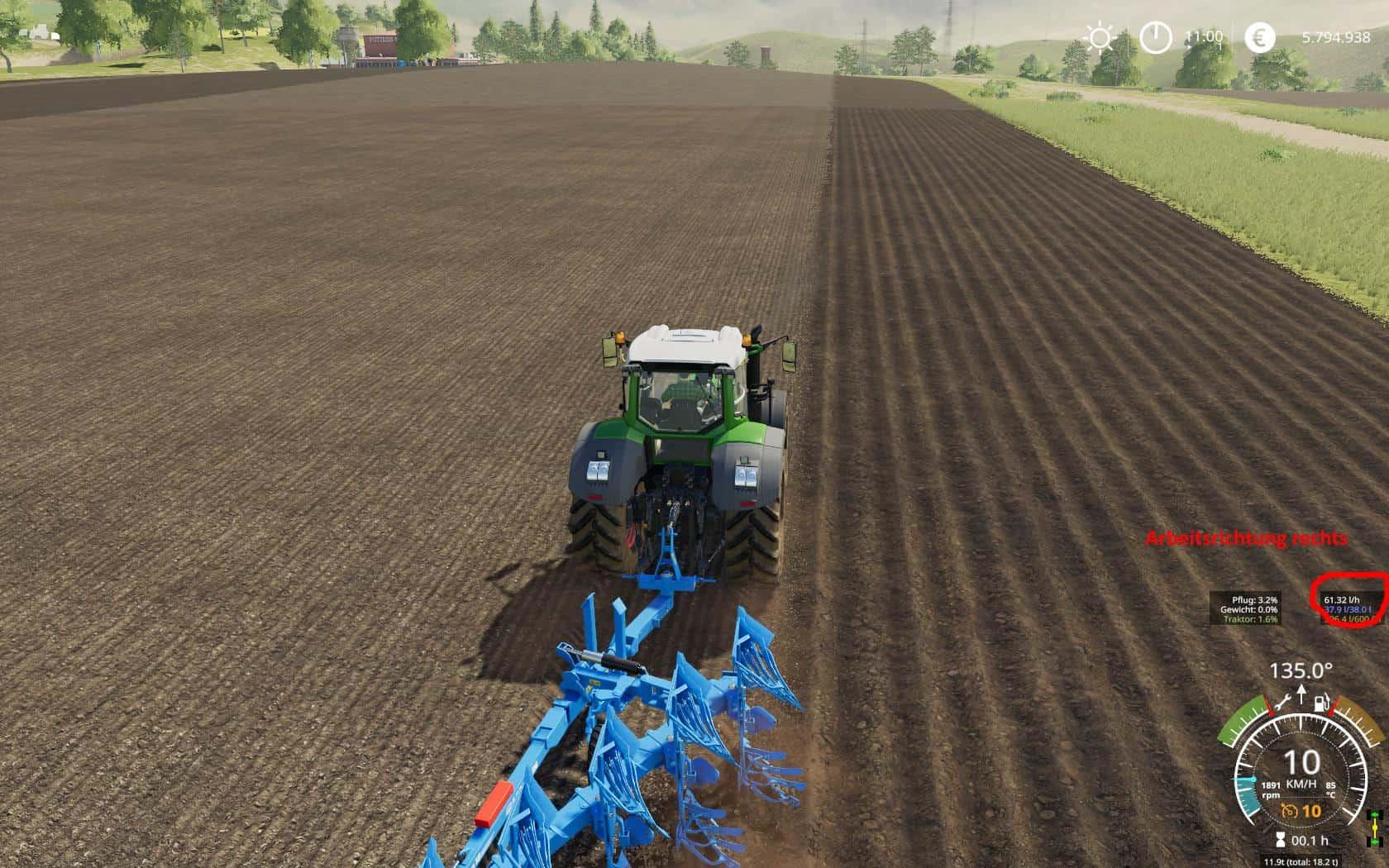Lemken Titan 11 optimiert v1 0 Mod - Farming Simulator 19 Mod / FS19