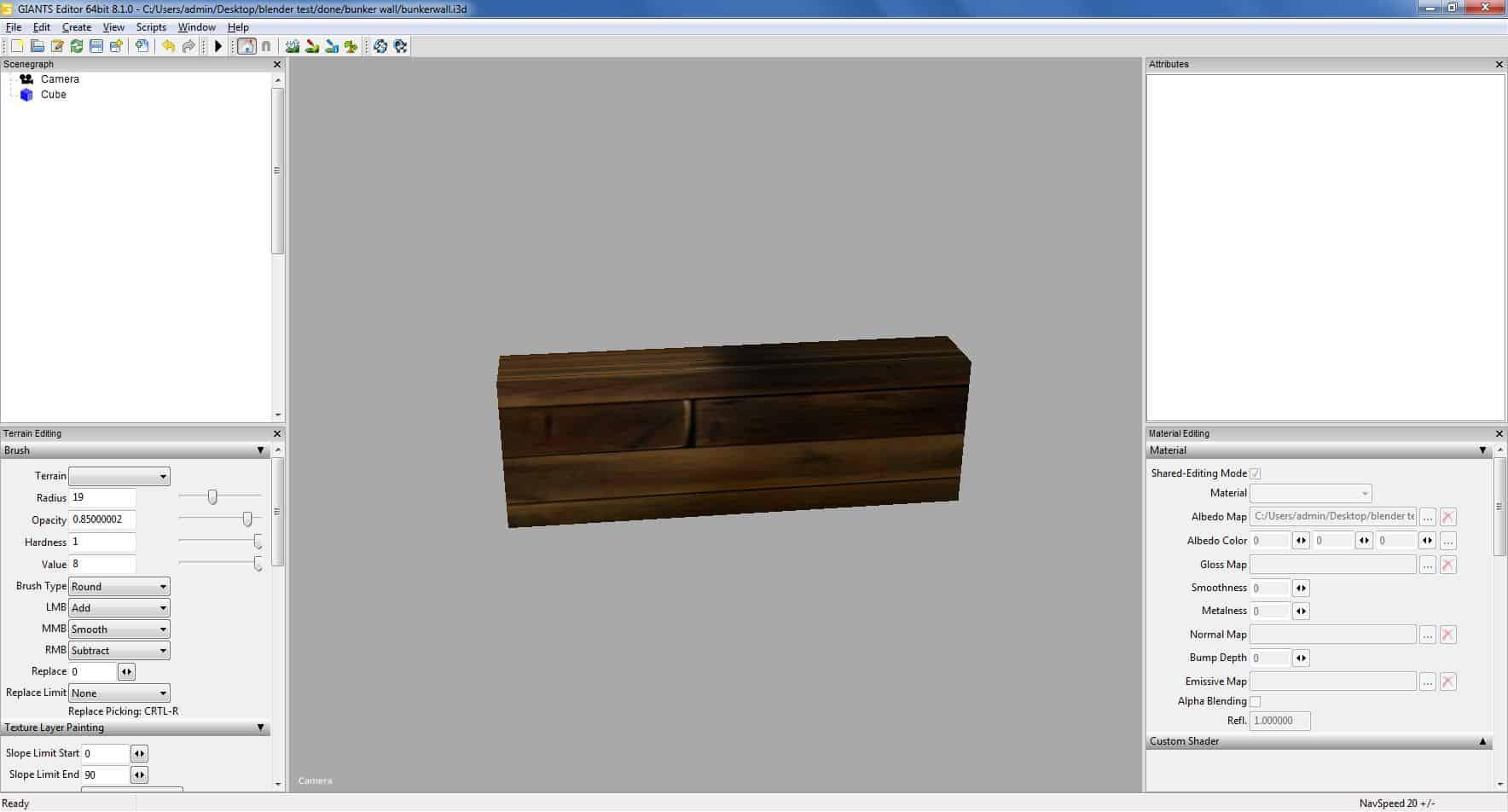 Prefab wood bunker wall v1 0 Mod - Farming Simulator 19 Mod / FS19