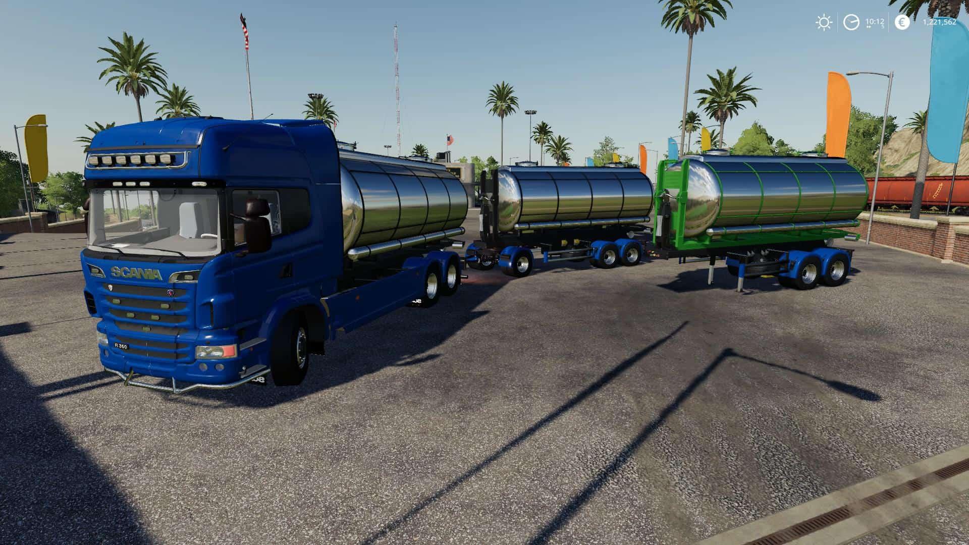 Scania R-series hooklift v1 2 0 0 Mod - Farming Simulator 19