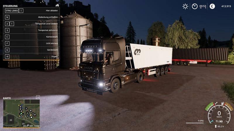 Scania R730 Semi v1 0 0 2 Truck - Farming Simulator 19 Mod / FS19