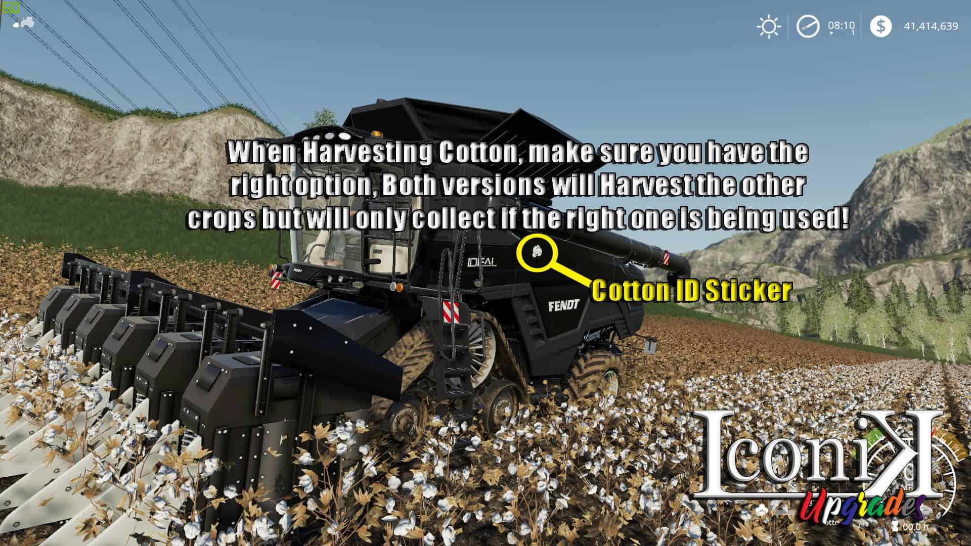 Iconik Ideal Harvester v1 0 Mod - Farming Simulator 19 Mod / FS19