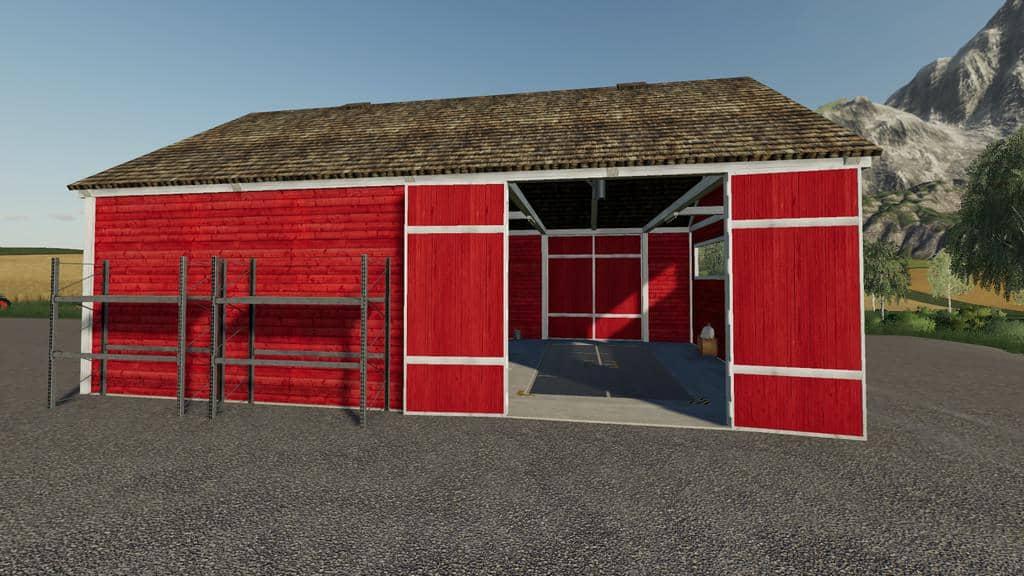 MF Shed Pack v1 0 0 0 Mod - Farming Simulator 19 Mod / FS19