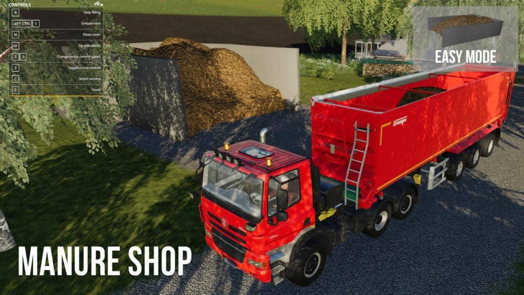 Manure Trading system v1 0 0 0 Mod - Farming Simulator 19 Mod / FS19