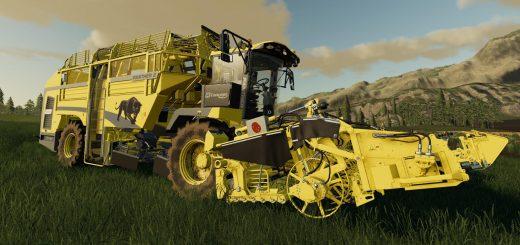 John Deere 8820 Turbo v1 0 Combine - Farming Simulator 19 Mod / FS19
