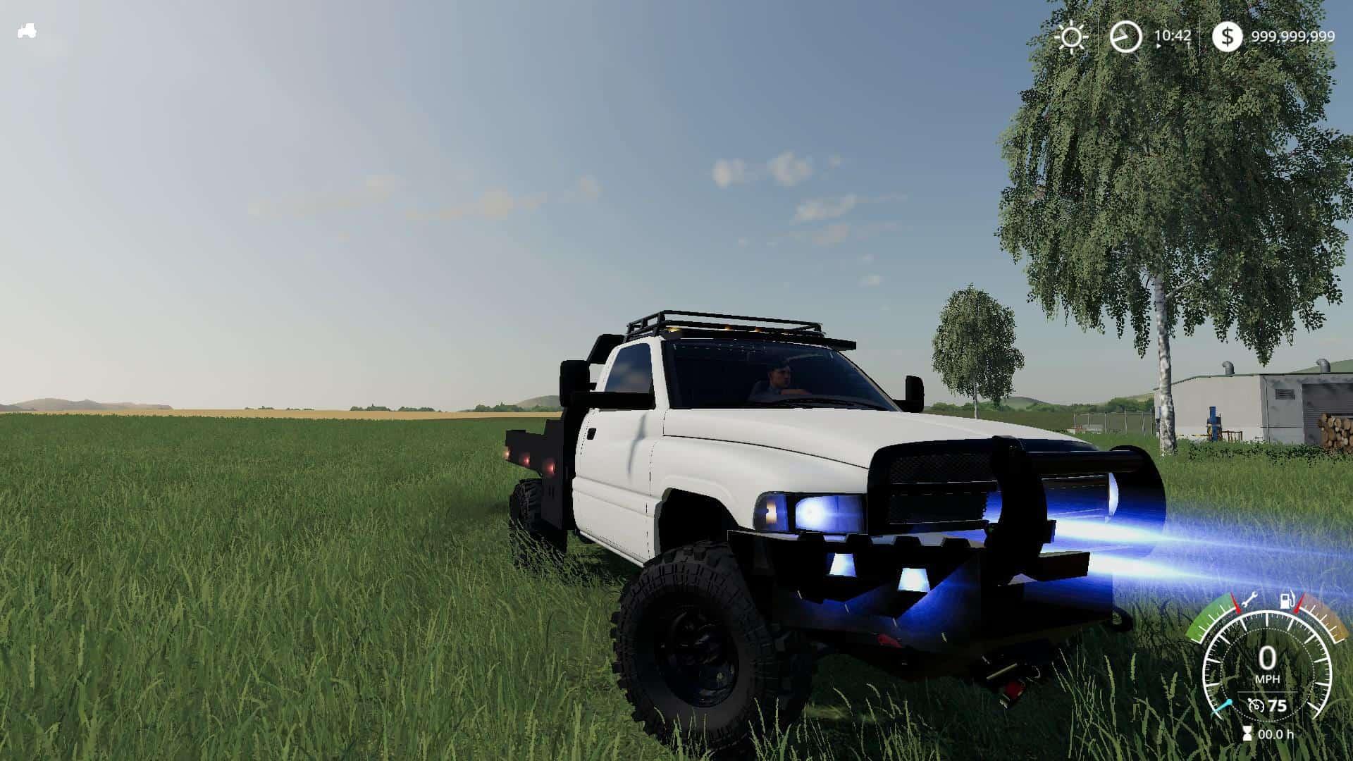 Second Gen Flatbed v1 0 0 0 Mod - Farming Simulator 19 Mod / FS19