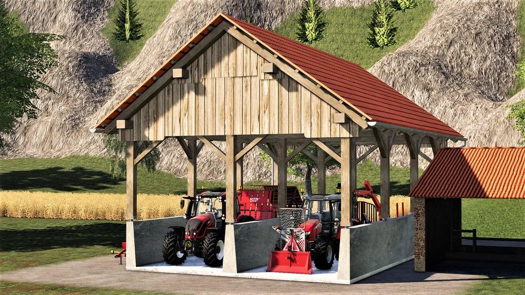 Small Bunker Silo Mod - Farming Simulator 19 Mod / FS19